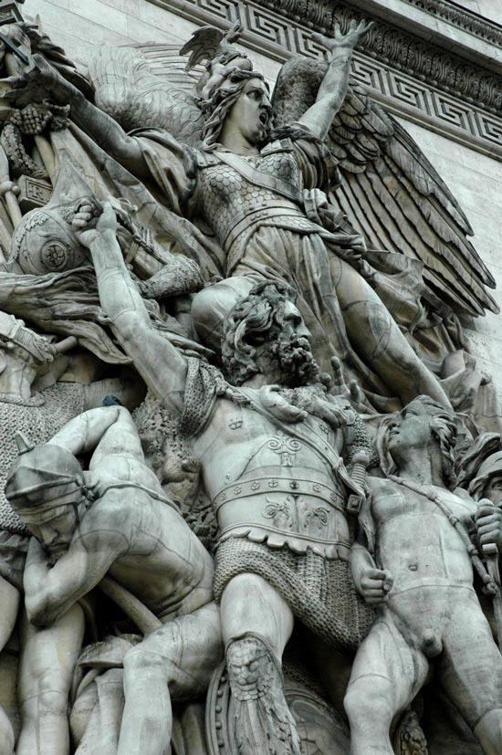 Arc de Triomphe Paris... Photography by Peter Carman ...2006