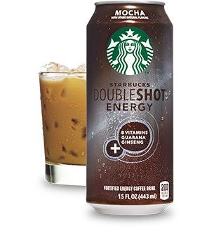 Starbucks Doubleshot Energy - Mocha (I've never been a fan of energy drinks, but I'm completely obsessed with these!)