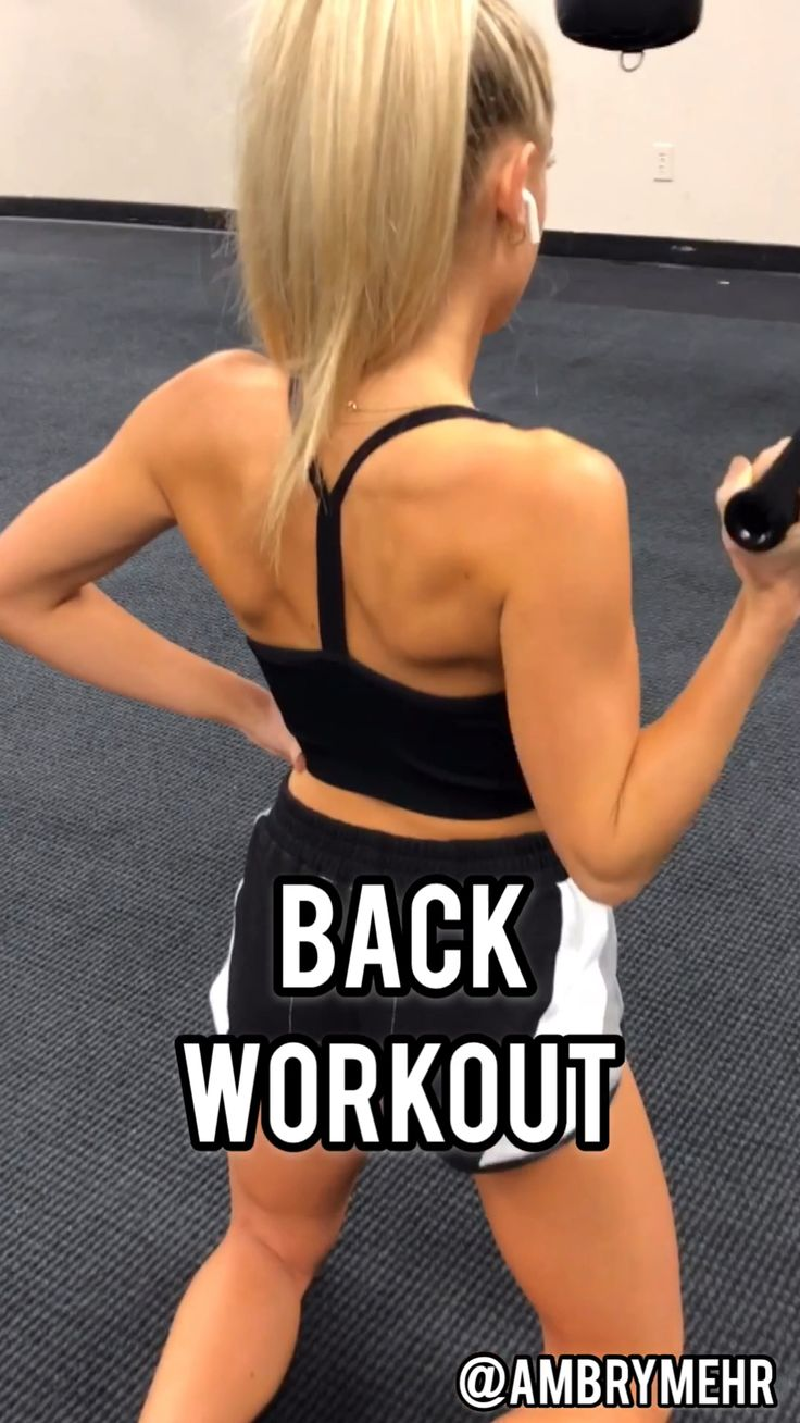 Bodybuilding Gym Back Workout- Follow @ambrymehr IG for free workouts!