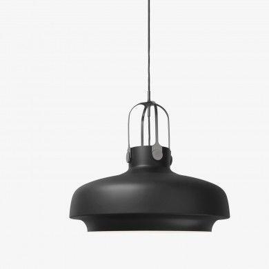 suspension copenhagen sc8 noir mat tradition comptoir. Black Bedroom Furniture Sets. Home Design Ideas