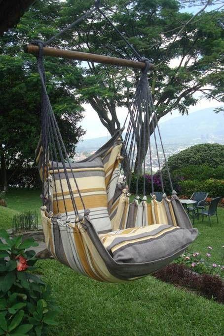 Hanging Hammock Chair - Natural Sand
