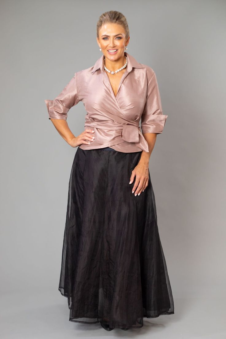 Pansy Skirt - Gown Length 2
