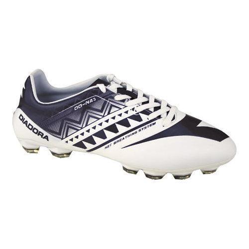 Men's Diadora DD-NA 3 GLX 14 Soccer Cleat White/