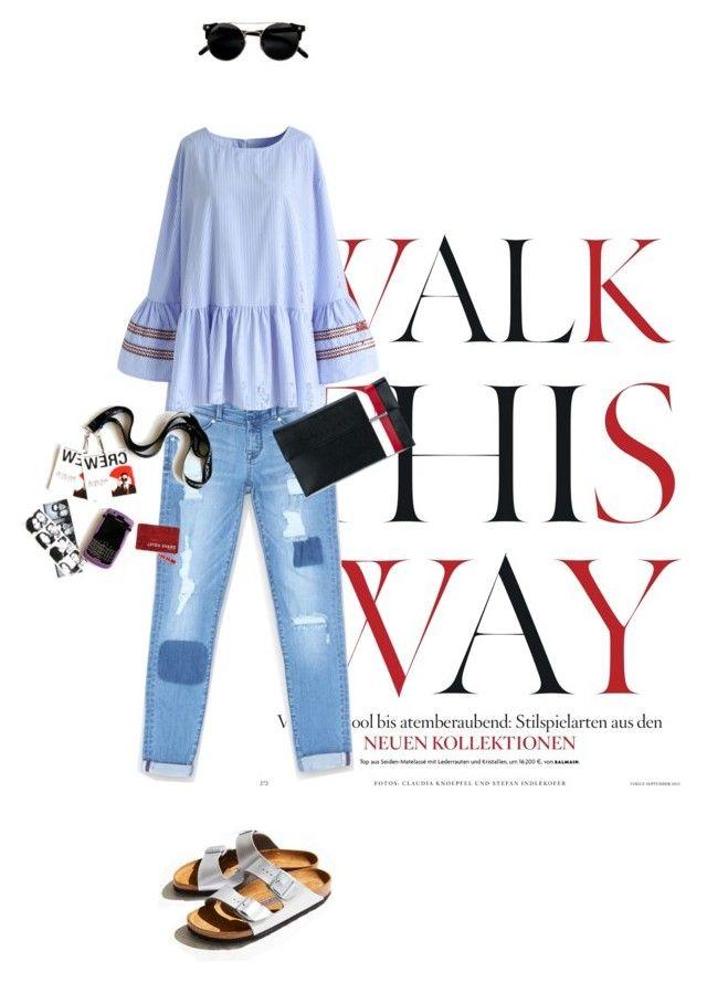 """so ugly"" by natyleygam ❤ liked on Polyvore featuring Anja, Birkenstock, Bebe, Chicwish, Tomasini, uglyshoes and walkthisway"