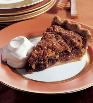 Caramel-Walnut Pie with Dried Cherries Not quite as sweet as a pecan ...