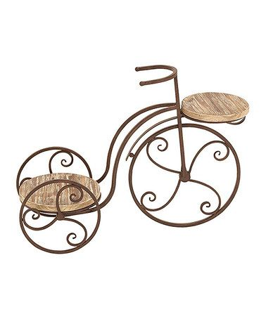 Look what I found on #zulily! Antique Bicycle Plant Stand #zulilyfinds