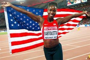 American Tianna Bartoletta wins long jump gold at the World Athletics Championships 2015