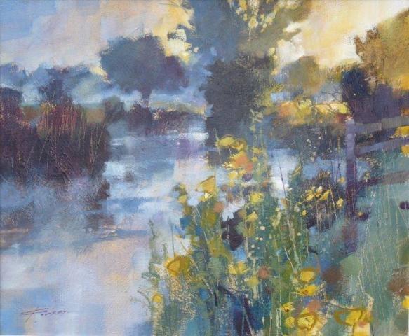 Acrylics on canvas - Chris Forsey