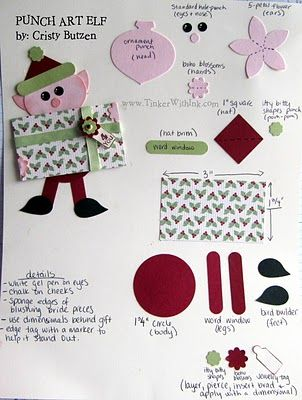 Tinker With Ink & Paper: Christmas sooooo cute and clever