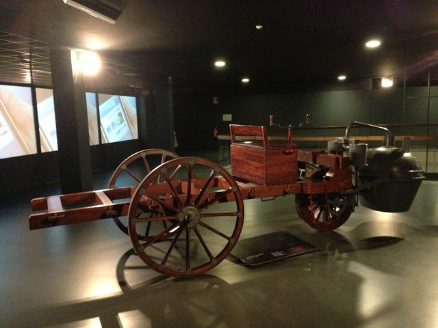 World's first self propelled vehicle built by 1769 by Nicolas Joseph Cugnot in Paris's Military Arsenal