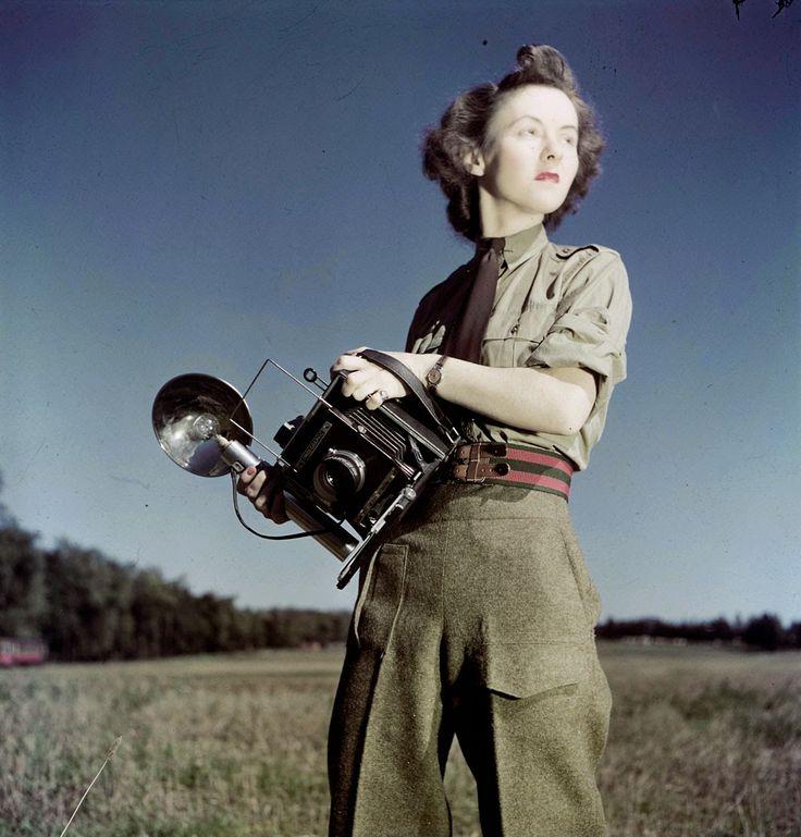 Sergeat Karen Hermiston, the first female military