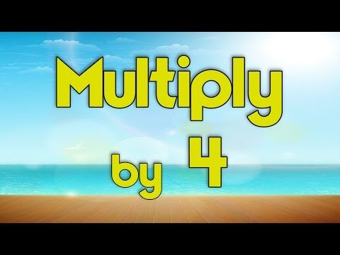 31 best cc y2 w2 images on pinterest for kids learning and bicycling multiply by 4 learn multiplication multiply by music jack hartmann youtube fandeluxe Gallery
