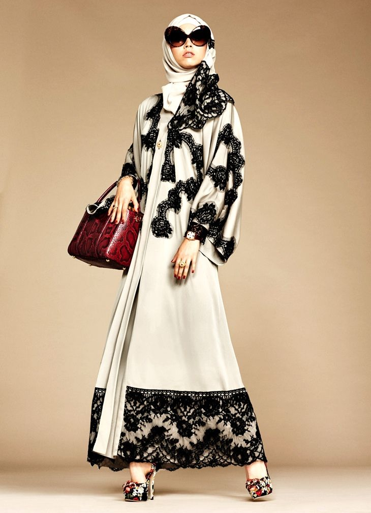 Dolce & Gabbana - Abaya Collection                              …