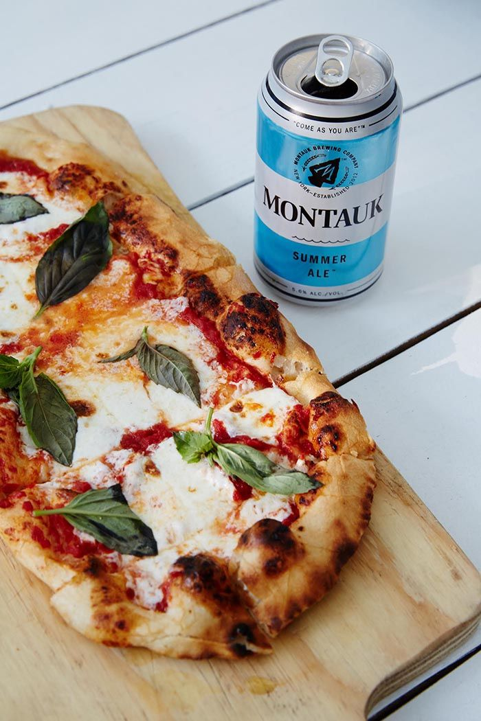 Margherita Pizza Recipe From Moby's In East Hampton | designsponge.com