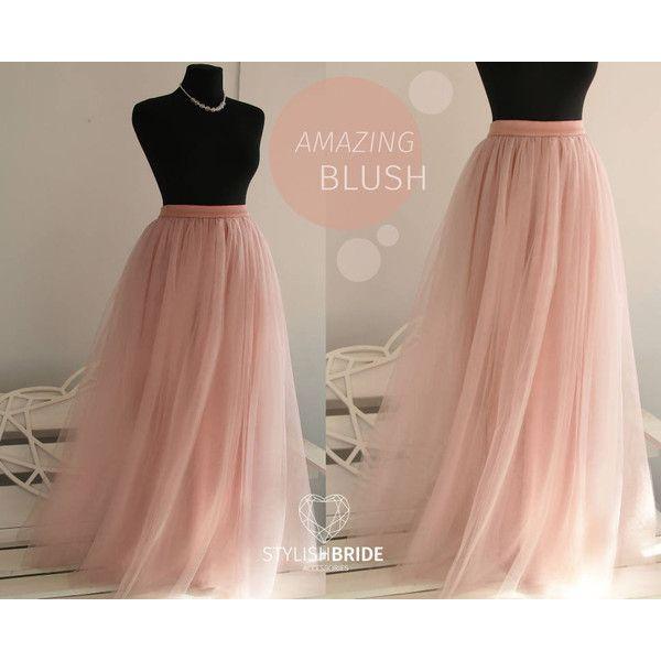 New 8 Blush Long Tulle Skirt Casual Floor Length Women's Tulle Skirt... ($90) ❤ liked on Polyvore featuring skirts, grey, women's clothing, grey maxi skirt, tulle skirts, grey tulle skirt, long skirts and layered tulle skirt