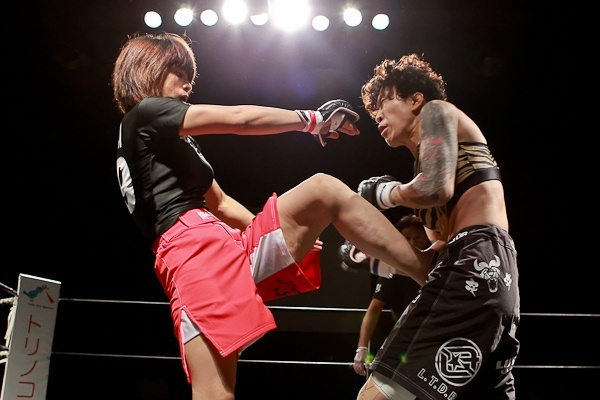 Asian lesbian mma combat 4