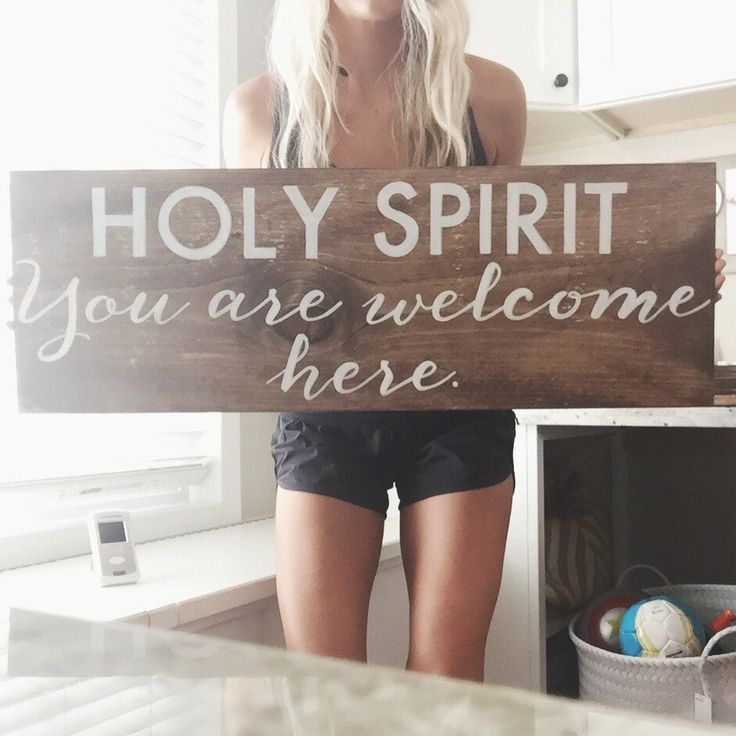 Holy Spirit You are welcome here. by GracedandCo on Etsy https://www.etsy.com/listing/240679855/holy-spirit-you-are-welcome-here