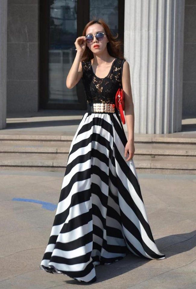 Womens Clothing Boho Maxi Dresses Maxi Dresses Neck Floors