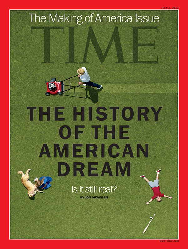 """'La historia del sueño americano... ¿Sigue siendo real?' Este viernes, en TIME / """"The History of the American Dream"""" (Photo-Illustration by Jeff Minton) // .. para leer: Keeping the Dream Alive - The American Dream: A Biography http://www.time.com/time/specials/packages/article/0,28804,2117662_2117682_2117680,00.html: America Issues, Covers Stories, Time Covers, Books Worth, American Dreams, Reading Lists, Magazines Covers, Photos Illustrations, Time Magazines"""