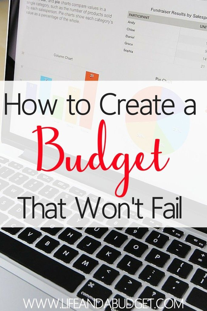 There are multiple ways you can tackle setting up your budget, but regardless of your budgeting strategy, there are a few things you want to remember so your budget won't fail.