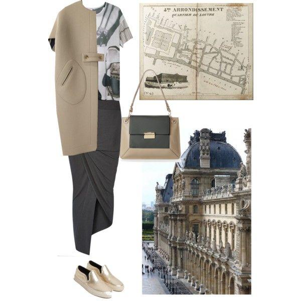 Le Louvre look :)