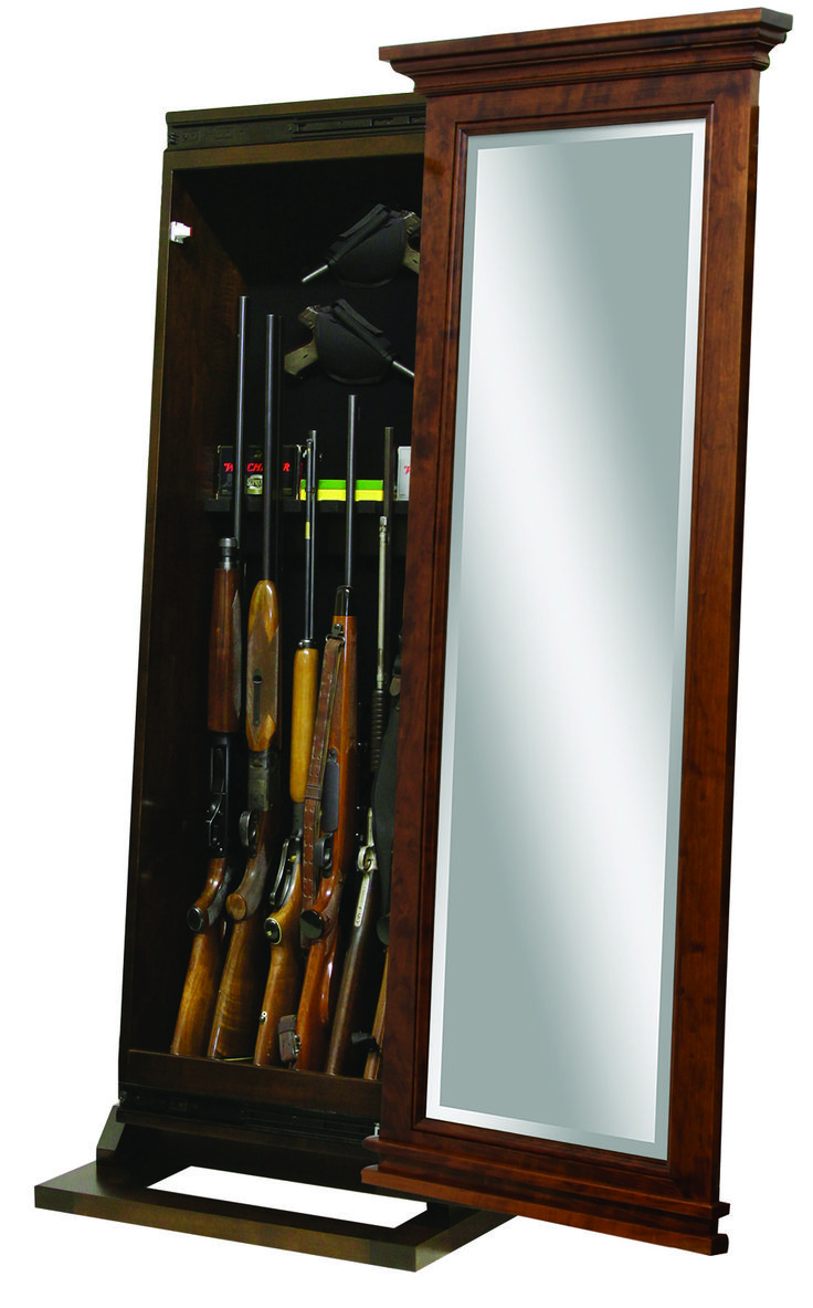 Looking for unique rifle storage ideas? Look no further than our American-crafted gun cabinets.