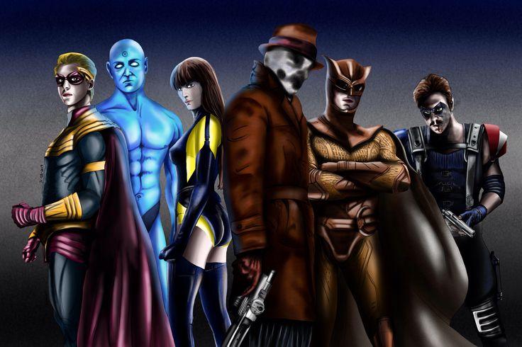 Watchmen By Eugenio Folatre