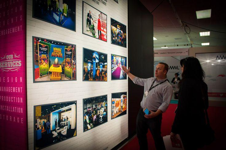 Interactive #PictureCube. #PortableDisplays #ExhibitionStands