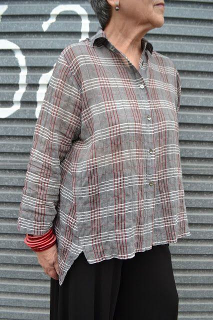 Tessuti Fabrics - Jac Shirt Pattern