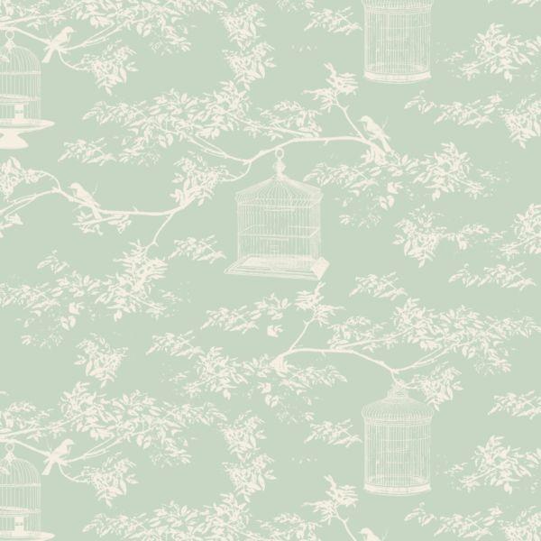 Tilda Winter Memories Fat Quarter - Birdcage ToileTeal - Fabrics - Tilda Crafts - Sewing, Quilting and Needlecraft Stitch Craft Create craft supplies
