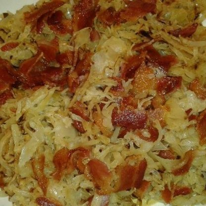 Make and share this Fried Sauerkraut recipe from Food.com.
