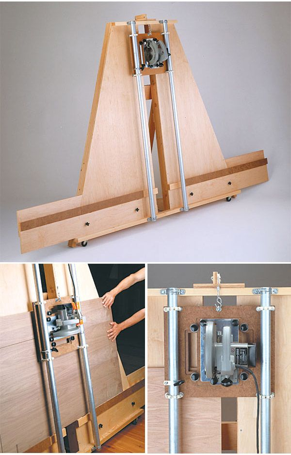 Panel Saw Woodworking Plan plansnow.com/... #woodworking                                                                                                                                                                                 More