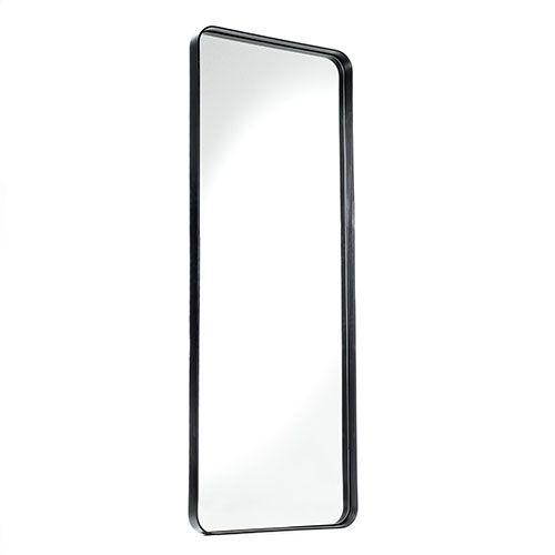 Black Orla Rectangle Mirror Range