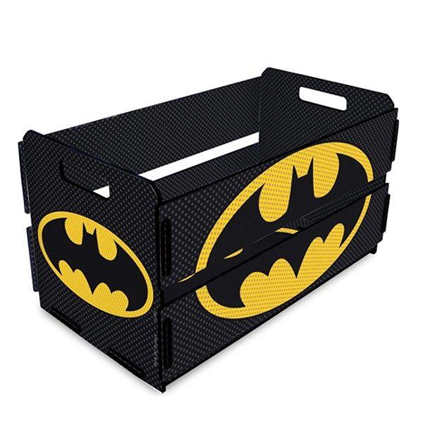 Caixote de Feira Mini Batman Black