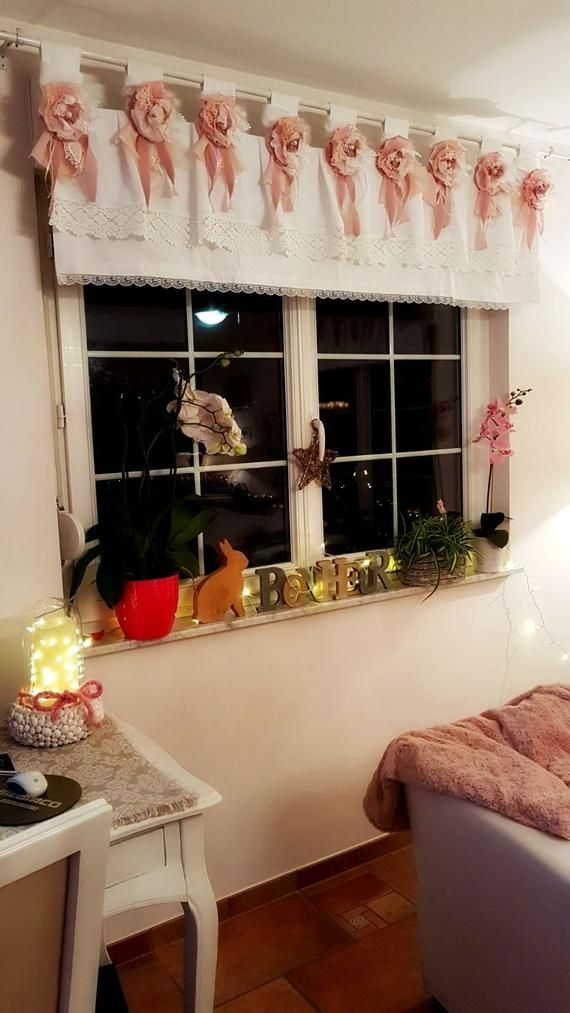 White Sand Burlap Valance Shabby Chic Window Valance Rustic Curtain Country Curtains Ivory Burlap Curtain Window Treatments Burlap Valance Burlap Curtains Rustic Curtains