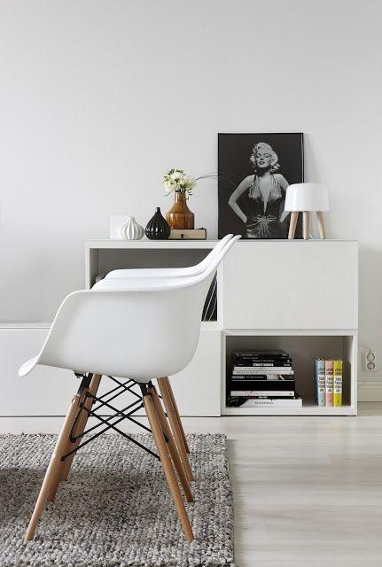 A fab black and white Helsinki home
