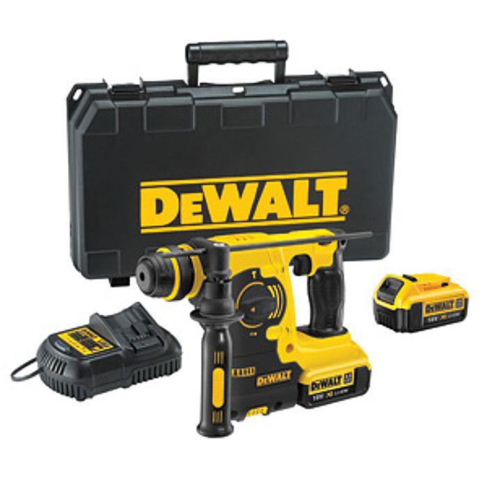 Dewalt DCH254M2 Cordless SDS Drill 18 Volt & Quick Change Chuck DCH254