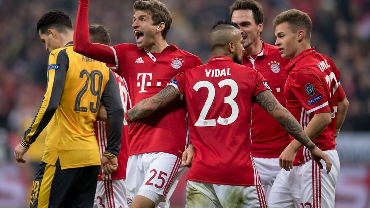 Torspektakel nach der Pause: FC Bayern feiert CL-Kantersieg gegen Arsenal