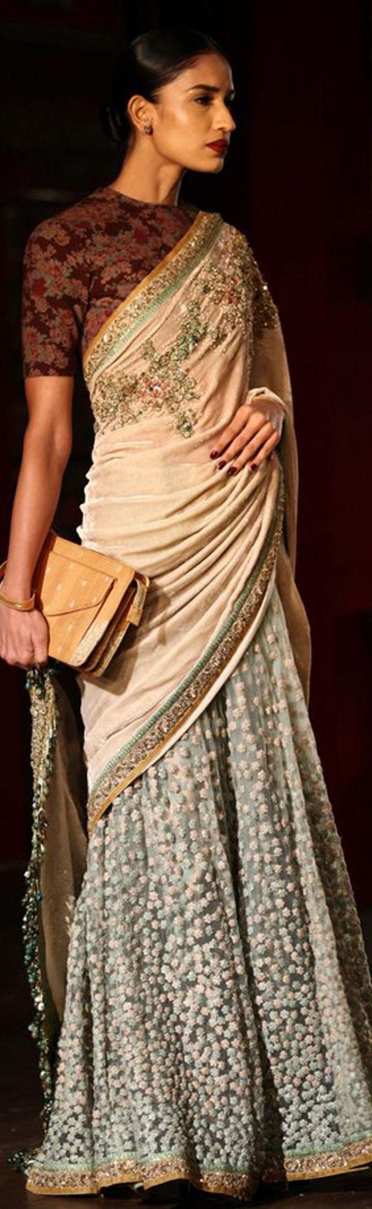 Sabyasachi saree /Amazon india fashion week/   ♒Revathy♒ [[Sabyasachi~❤。An Exquisite Clothing]]