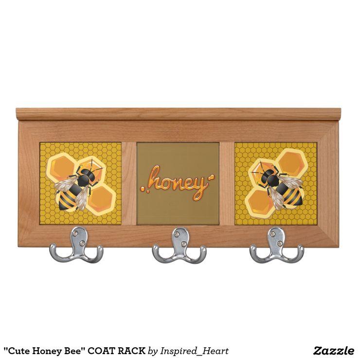Cute Honey Bee COAT RACK NurseryNursery DecorCoat