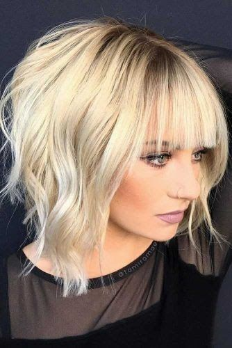 Add a fringe to the. How to cut your own hair cosmetologist tutorial.  70 Fantastic Stacked Bob Haircut Ideas Lovehairstyles Com  Chic Layered Bob Hai...
