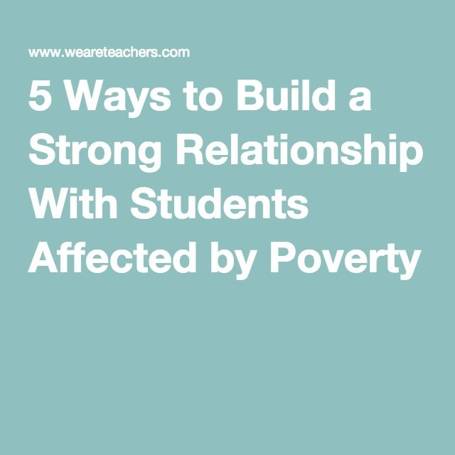 how to build strong relationships eith parents