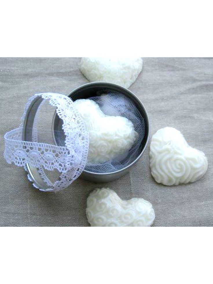 #wedding #lace #bonbonerie #soap #heart #myholydays