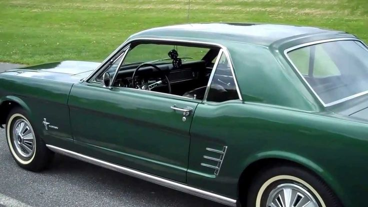 1966 Mustang Coupe- walkaround- Only 17,622 miles and all original parts and original paint color.