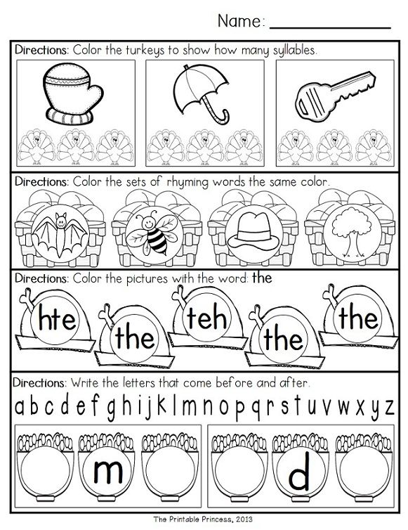 Free Printable Morning Worksheets : Kindergarten math morning worksheets best
