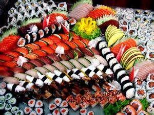 Sushi Festival in August Mardi Gras World in New Orleans, LA