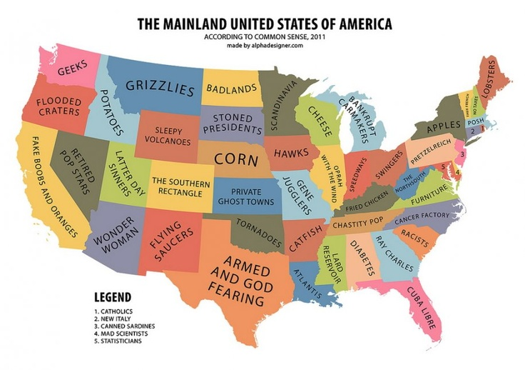 maps a complete guide to national stereotypes all around