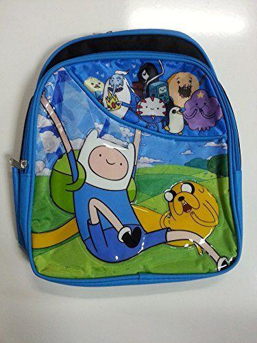 Small Backpack - Adventure Time - Finn Jake School Bag New 635367 @ niftywarehouse.com #NiftyWarehouse #AdventureTime #TVShow #Cartoon #Show #CartoonNetwork