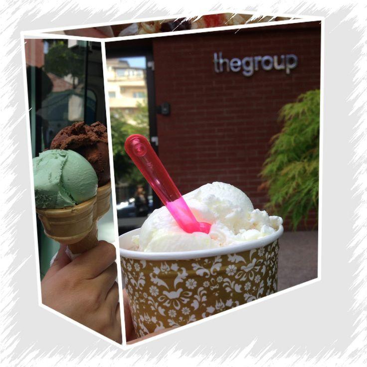 Delicii la birou   #sweetday #icecream