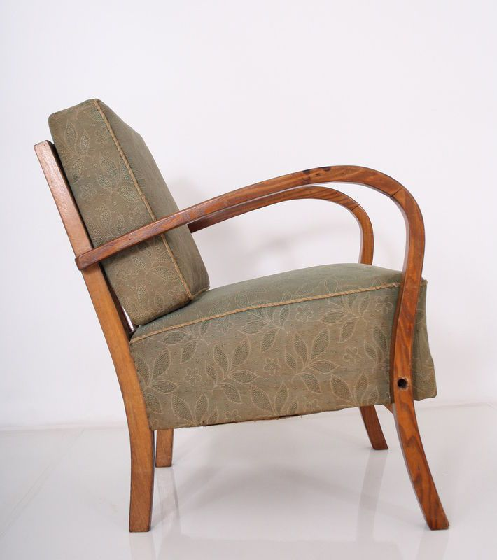 ART DECO EASY CHAIR - sedia poltrona fauteuil sillon butaca sessel 30s 40s